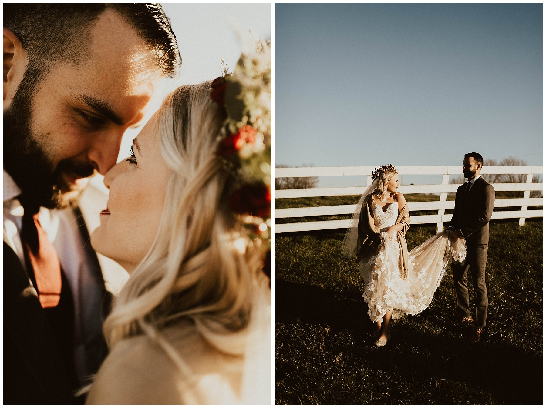 Hannah + Brian    Christmas Cabin Wedding – Lauren F.otography 4702a9cb5