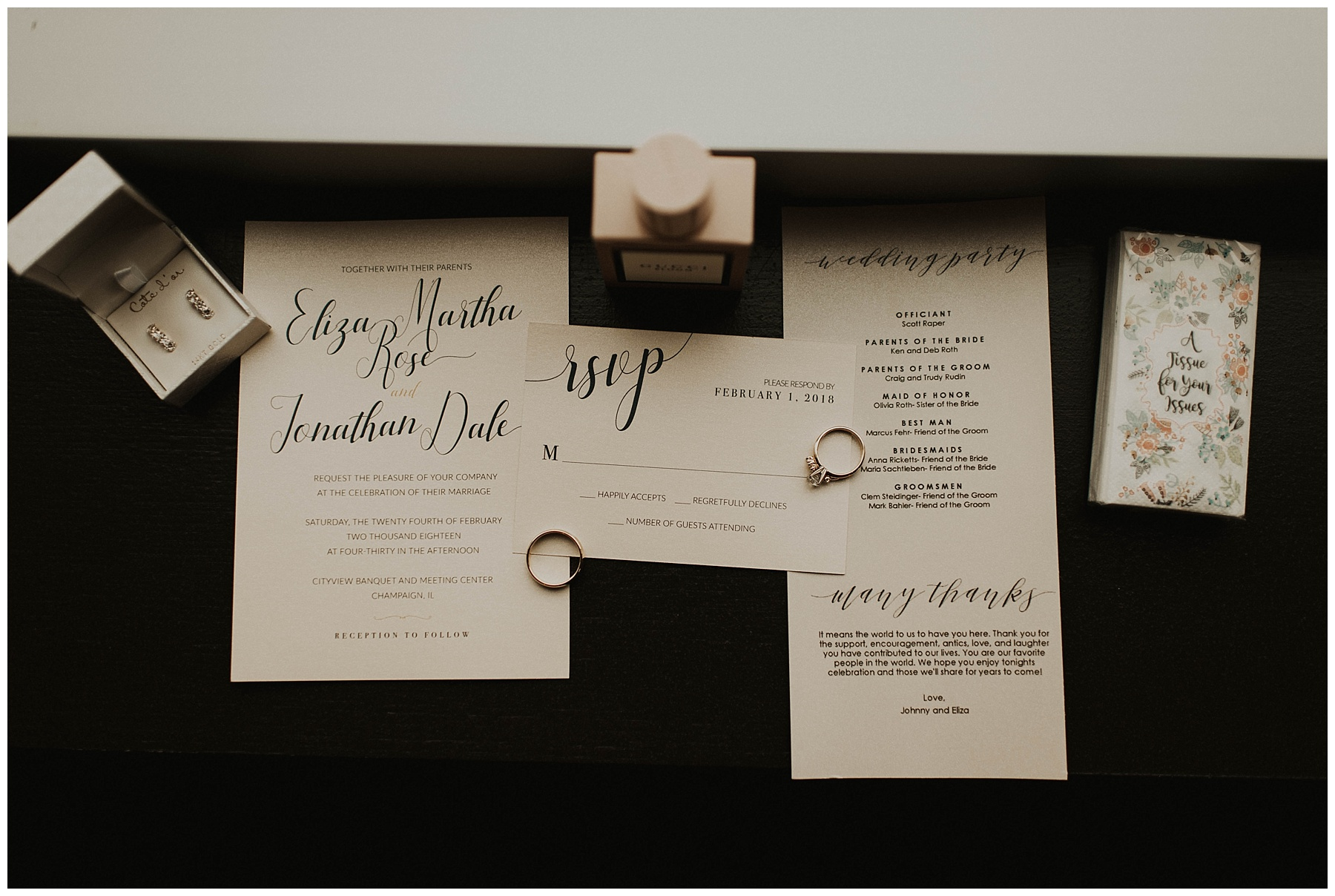 33a111fd4 Johnny + Eliza // Classic Winter Wedding - Lauren F.otography