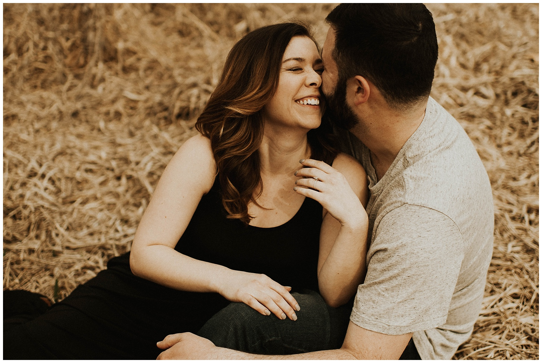 7328c4c592 Charlie + Tiffany    Engagements in the woods – Lauren F.otography