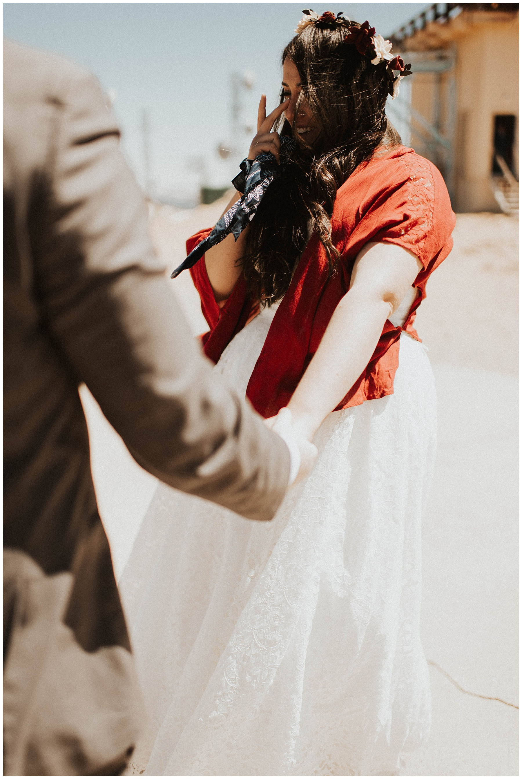 Ben + Lainee    Desert Colorado Wedding – Lauren F.otography 76df49802cd86